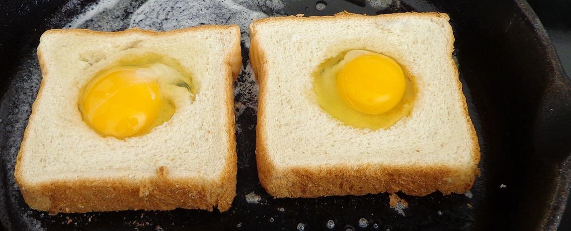 ביצה בקן - מתכון הכי פשוט והכי טעים