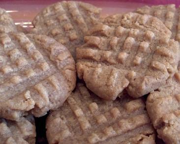 עוגיות חמאת בוטנים משגעות