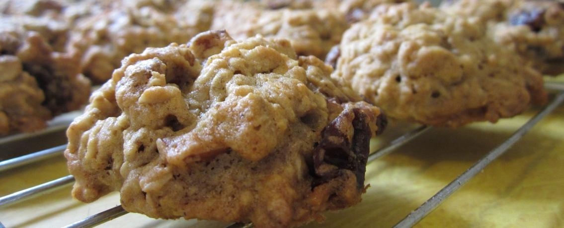 עוגיות שוקולד צ'יפס ושיבולת שועל מושלמות וקלות