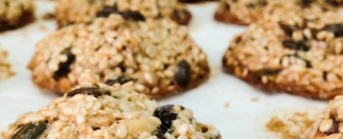 שומשומיות: עוגיות שומשום משגעות ומלאות בריאות שמכינים במהירות הבזק