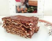 עוגת מצות ושוקולד