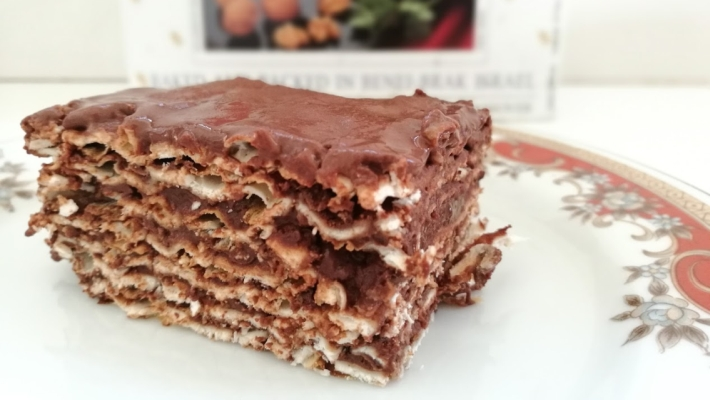 עוגת מצות ושוקולד הכי קלה שיש