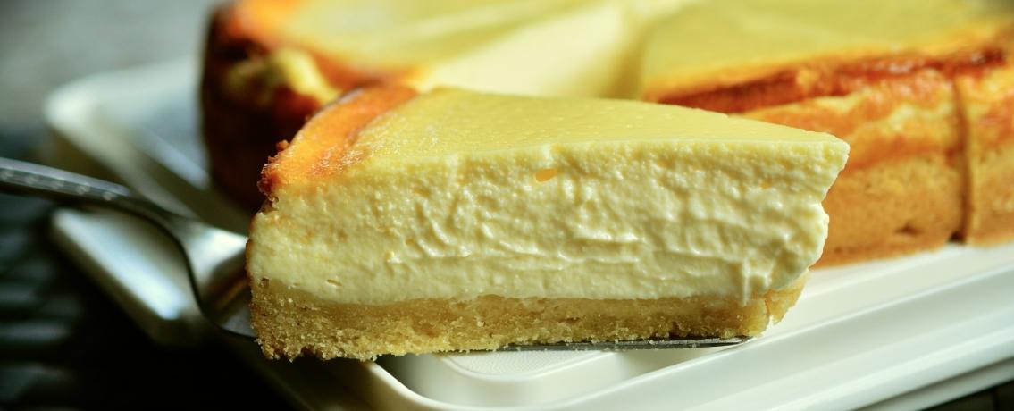 עוגת גבינה אפויה אוורירית כמו של פעם