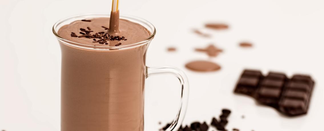 מילקשייק שוקולד סמיך ומפנק כמו של גלידריה