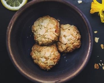 עוגיות שקדים פריכות ונפלאות